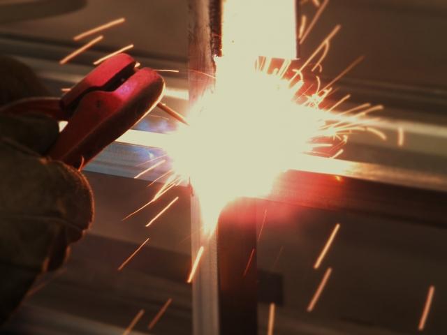 鉄鋼加工工場